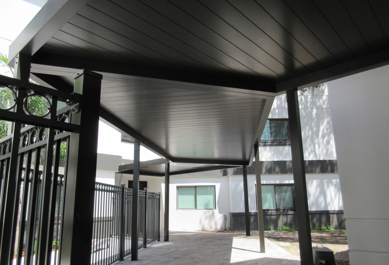 Aluminum Walkway Canopy Gallery
