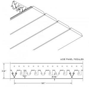 Hunter Douglas 300C Linear Plank