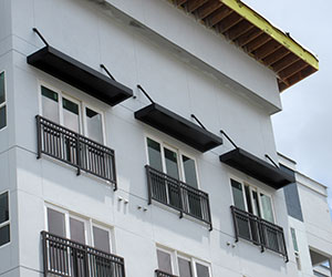 decking panel canopy
