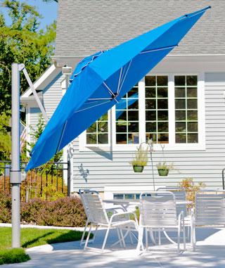 outdoor living, umbrellas, furniture, cushions