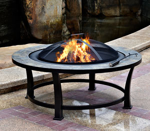fire bowl outdoor fireplace