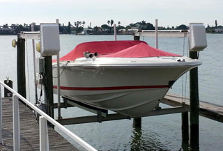 marine boat cover