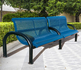 park bench by Superior Recreational Products