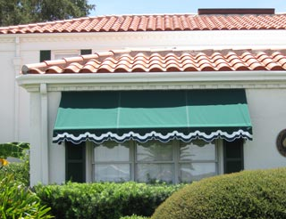 residential fixed awning