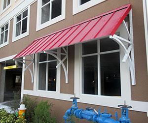 standing seam canopy