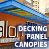 Awning Works Inc Decking Panel Canopy Gallery