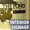 Awning Works Inc. Interior Signage Gallery
