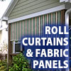 Awning Works Inc. Roll Curtains and Fabric Panels Residential Gallery
