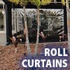 Awning Works Inc. Roll Curtain Gallery