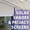 Awning Works Inc. Solar Shade and Privacy Screen  Residential Gallery