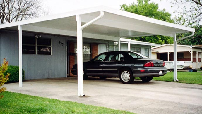 Awning Works Inc. Aluminum Carports