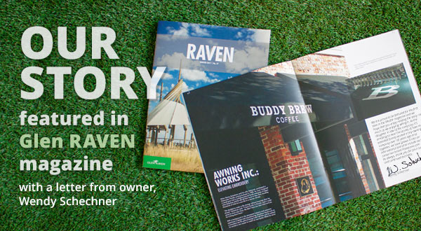 Our story featured in Glen Raven magazine