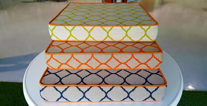 custom fabricated cushions