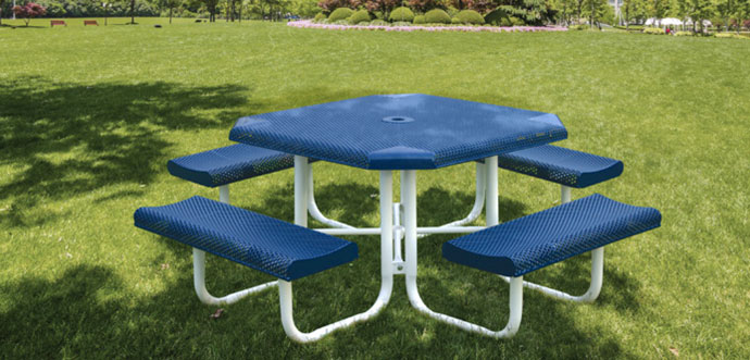 picnic table by Superior Recreational Products