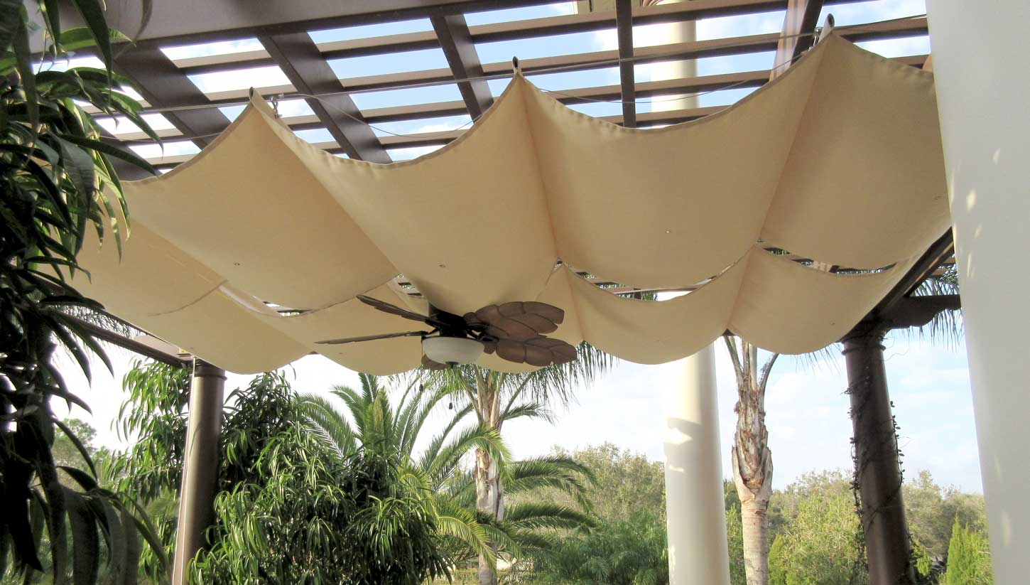 Retractable Pergola Covers