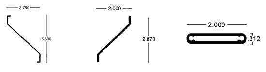 louvered sunshade diagram