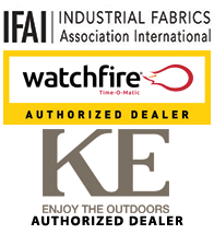 Industrial Fabrics Association Internation, Hunter Douglas Contract Authorized Dealer, Durasol Awnings Authorized Dealer