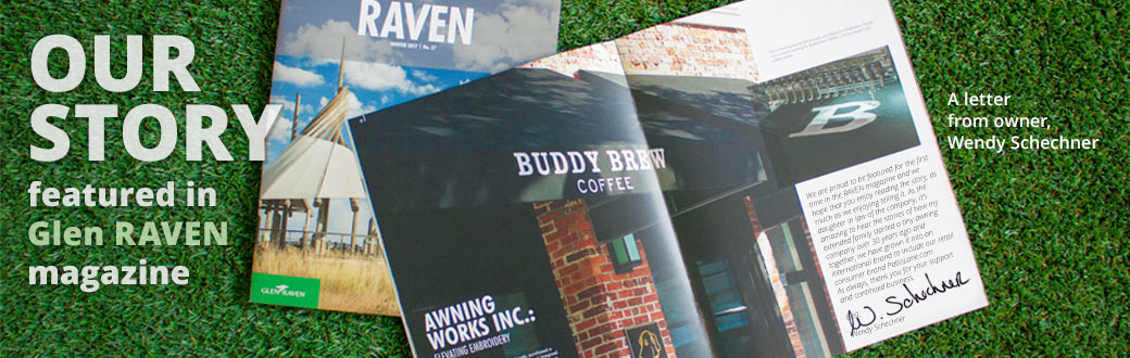 Awning Works featured in Glen Raven magazine