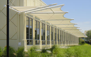 Tension Sunshades At Eckerd College Florida