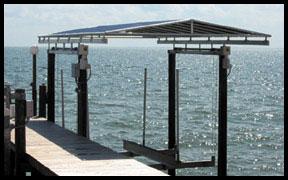 davit canopy & Boat Lift Canopies