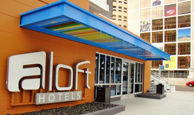 Decking Panel Canopy - Aloft T&a & Awesome Awnings at Aloft Hotel