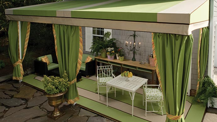 Awning Patio Drapes