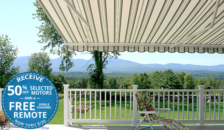 Manual And Motorized Retractable Awnings