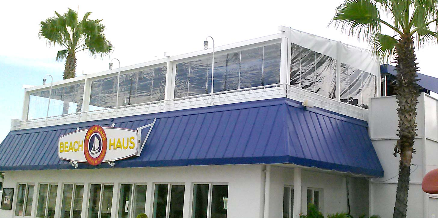 GENNIUS retractable pergola - Beach Haus, Gulfport FL