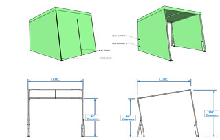 MedTent single schematic