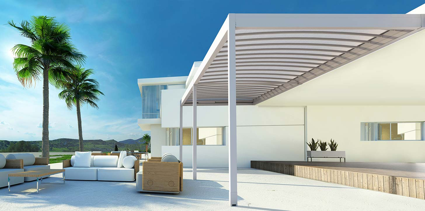 KEDRY louvered roof