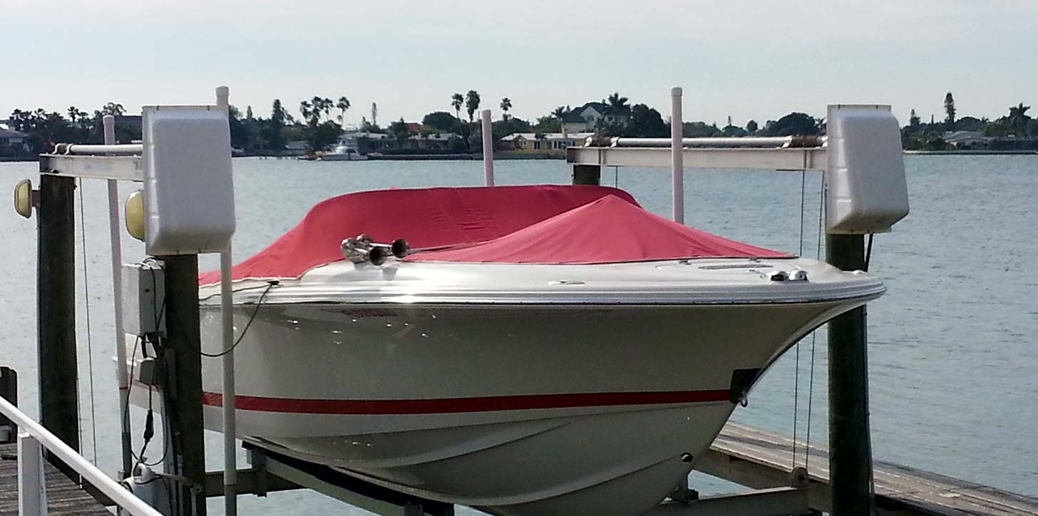 marine canvas boat cover