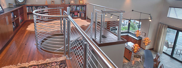 Stainless Railings: No Maintenance, Low Life Cost, High Style