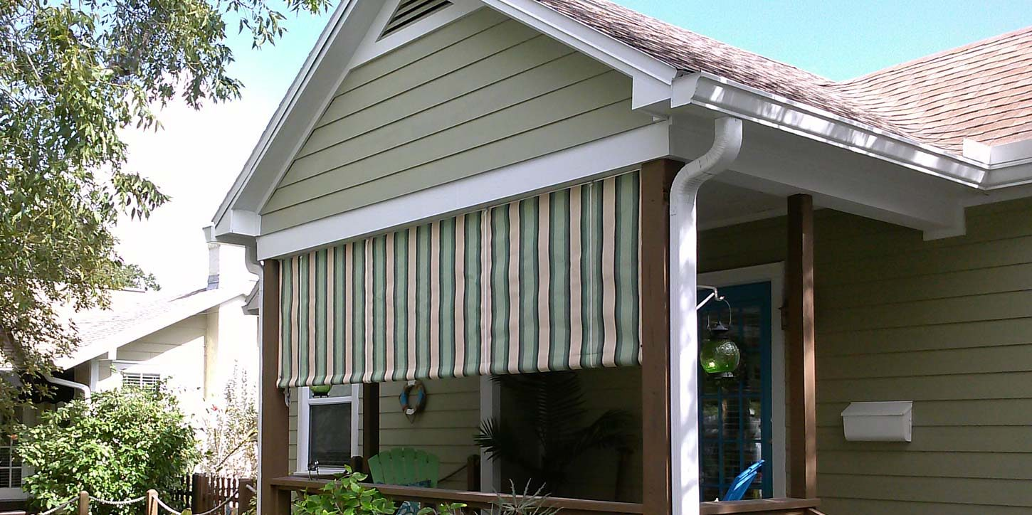 roll curtain residential